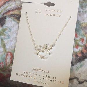 "LC horoscope  fashion necklace Sagittarius 16"""